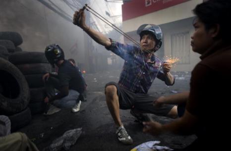 Тайланд. Обстановка огнеопасная. Фото: Andy Nelson /Getty Images