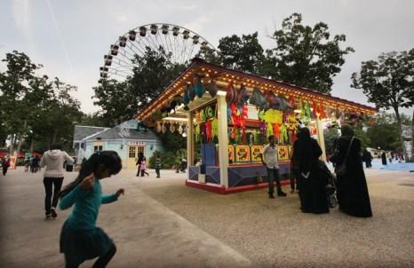 Парк развлечений Six Flags Great Adventure в Нью-Джерси. Фото:  Mario Tama/Getty Images