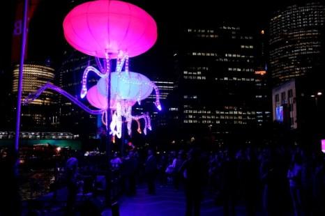 Фестиваль музыки и света в Сиднее. Фото: Mark Nolan/Getty Images