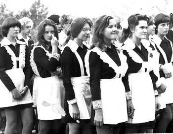 Школьные девчонки. Фото предоставлено автором