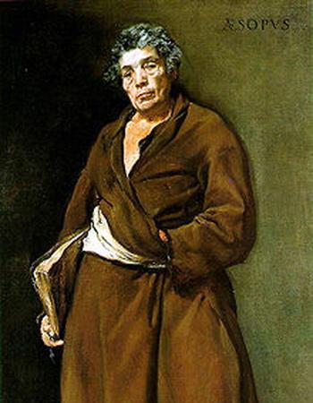 Эзоп. Картина Диего Веласкеса (1639—1640)