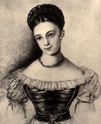 Каролина Павлова. С сайта seell.rutgers.edu
