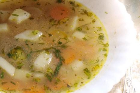 Пассированный постный суп. Фото: Хава Тор/Великая Эпоха (The Epoch Times)