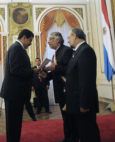 Фоторепортаж с праздника 200-летия годовщины со Дня независимости республики Парагвай. Фото: AFP PHOTO/NORBERTO DUARTE