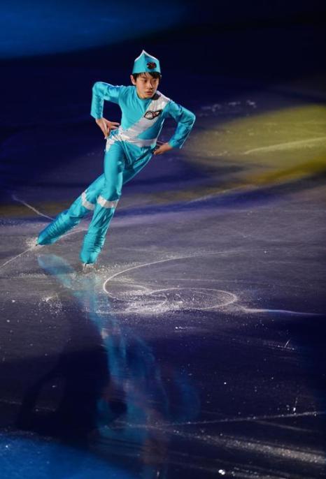 Показательные выступления провели призёры Кубка мира в Токио. Фото: Atsushi Tomura/Getty Images