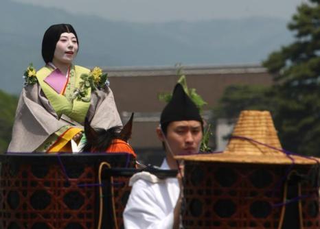 Старинный фестиваль мальмы начался в Киото. Фото: Buddhika Weerasinghe/Getty Images