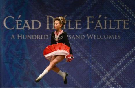 Чемпионат ирландского танца в Глазго, 22 февраля 2013 года. Фото: Jeff J Mitchell/Getty Images