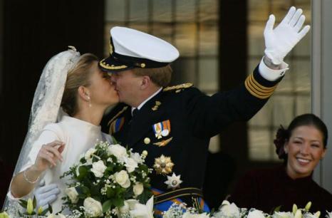 Свадьба принца Виллема-Александра с Максимой. Фото: Sion Touhig/Getty Images