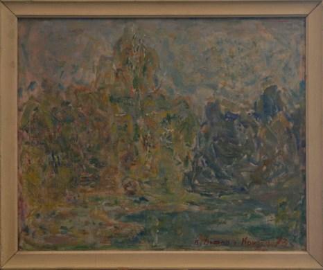 «Пустота». Картина кисти В. М. Диффнэ-Кристи. Фото предоставлено Валерием Емельяновым