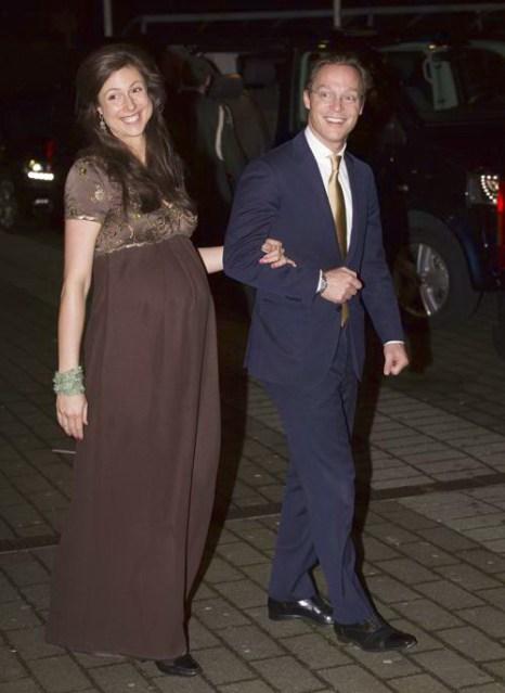 Принцесса Виктория де Бурбон-Парме и принц Хайме де Бурбон-Парме 1 февраля 2014 года на праздновании дня рождения принцессы Беатрикс, ранее царствующей в Нидерландах. Фото: Robin Utrecht-Pool/Getty Images