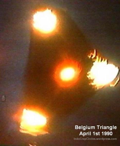 Согласно поступившим сообщениям, 13500 человек в Бельгии наблюдали загадочный треугольный объект с мерцающей нижней поверхностью в период между ноябрём 1989 г. и апрелем 1990 г. Фото: J.S. Henrardi/Public domain