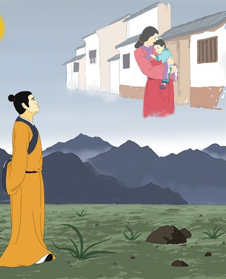 Близких больше всего не хватает в день праздника. Иллюстрация Цзычин Чэн/Великая Эпоха