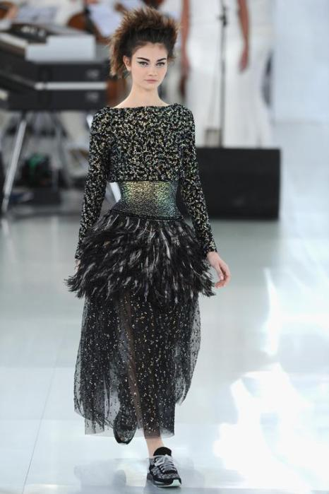 Дом моды легендарной Коко Шанель представил новую коллекцию от кутюр Chanel лето-осень 2014 на Неделе высокой моды 20 января. Фото: Pascal Le Segretain / Getty Images