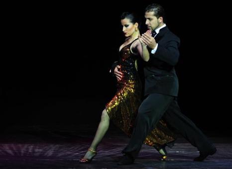 Чемпионат мира по танго 2013 в аргентинской столице Буэнос-Айресе. Фото: DANIEL GARCIA/AFP/Getty Images