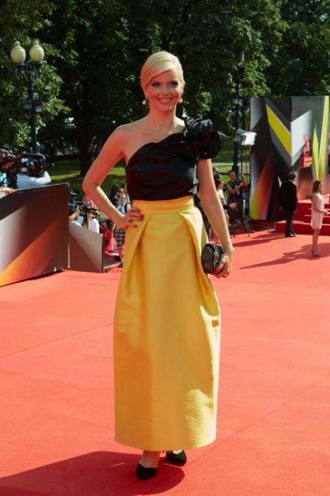 Актриса Анна Чурина посетила закрытие кинофестиваля в Москве 29 июня 2013 года. Фото: Oleg Nikishin/Getty Images for Artefact