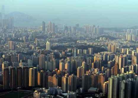 В Гонконге построено самое большое количество небоскрёбов. Фото: ANTONY DICKSON/AFP/Getty Images