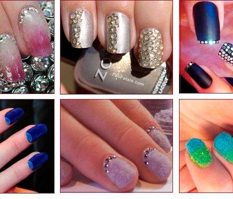 Кружевной маникюр. модные ногти