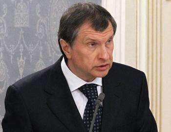 Заместитель председателя правительства РФ Игорь Сечин. Фото РИА Новости