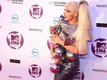 Леди Гага завоевала четыре награды MTV. Фото: Фото: Gareth Cattermole/Getty Images