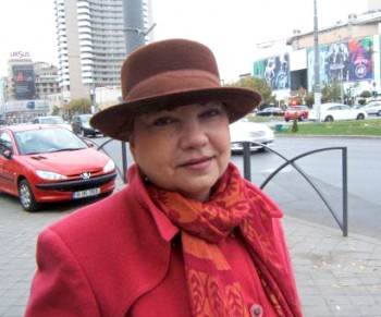 Габриэла Олару, Румыния, Бухарест.  Фото с сайта theepochtimes.com