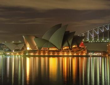 Оперный театр «Опера-Хаус». Фото с сайта zastavki.com