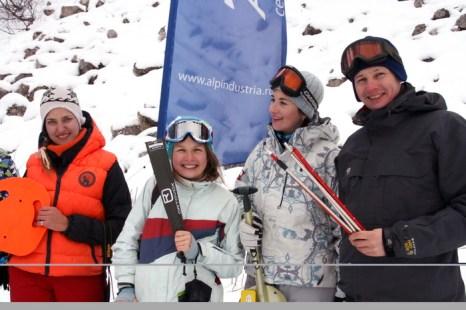 Победители практического лавинного семинара. Фото: Тамара Мыц