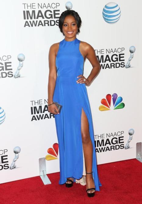 Кеке Палмер на вручении NAACP Image Awards 1 февраля 2013 года, Калифорния, США. Фото: Frederick M. Brown/Getty Images for NAACP Image Awards