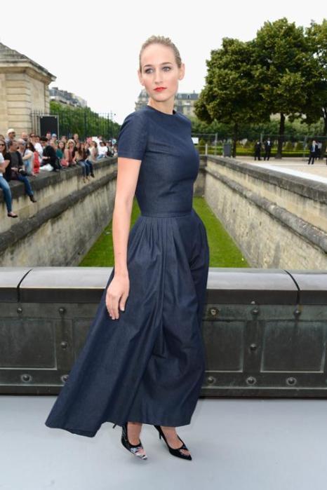 Лили Собески посетила показ Christian Dior в Париже 1 июля 2013 года. Фото: Pascal Le Segretain/Getty Images