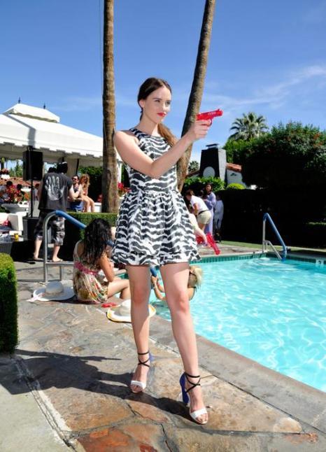 Криста Б. Аллен на фестивале Coachella. Фото: John Sciulli / Getty Images for GUESS