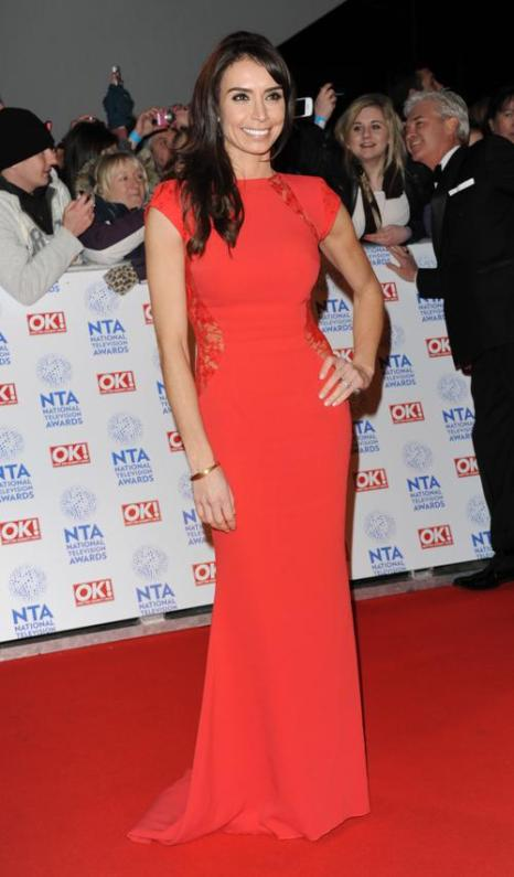 Кристина Блейкли (Christine Bleakley) на церемонии вручения премии National Television Awards в Лондоне, 23 января 2013 года. Фото: Stuart Wilson / Getty Images