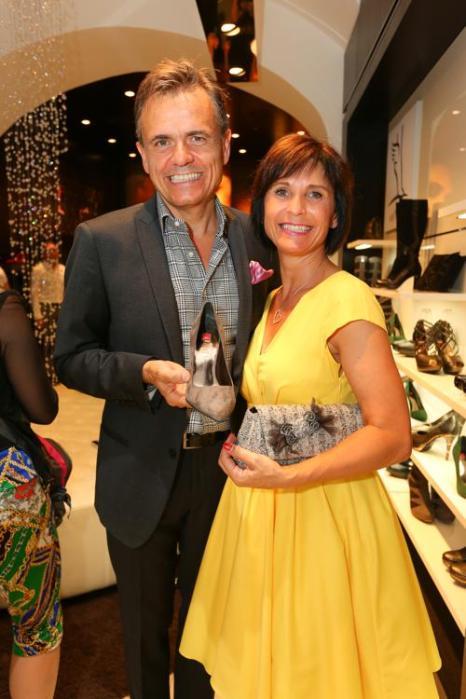 Авторитетный мировой бренд обуви Hoegl из Австрии провёл презентацию нового магазина в Вене 24 июля 2013 года. Фото: Moni Fellner/Getty Images