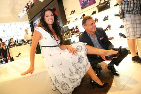 Актриса Кристина Нойбауэр на презентации австрийской обуви Hoegl в Вене. Фото: Moni Fellner/Getty Images
