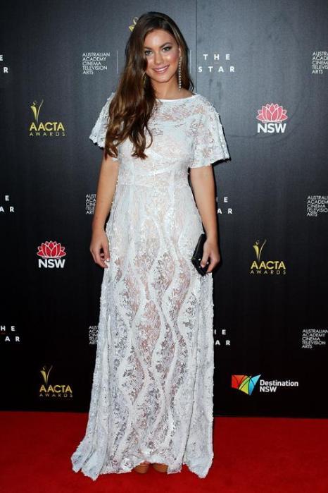 Шарлотта Бест, актриса из Австралии, на церемонии вручения премии AACTA в Сиднее, 30 января 2013 года. Фото: Lisa Maree Williams / Getty Images