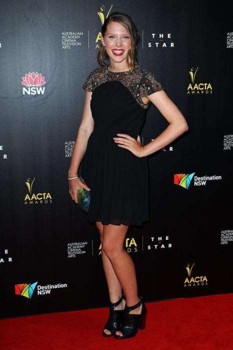 Актриса Бренна Хардинг на церемонии вручения премии AACTA в Сиднее, 30 января 2013 года. Фото: Lisa Maree Williams / Getty Images