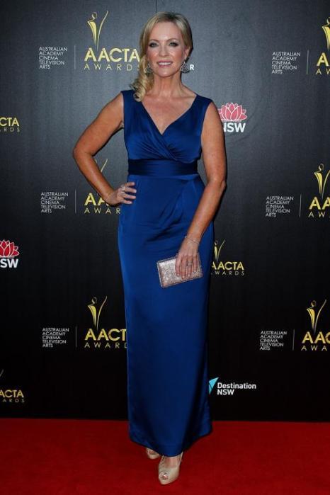 Ребекка Гибни, австралийская актриса, на церемонии вручения премии AACTA в Сиднее, 30 января 2013 года. Фото: Lisa Maree Williams / Getty Images