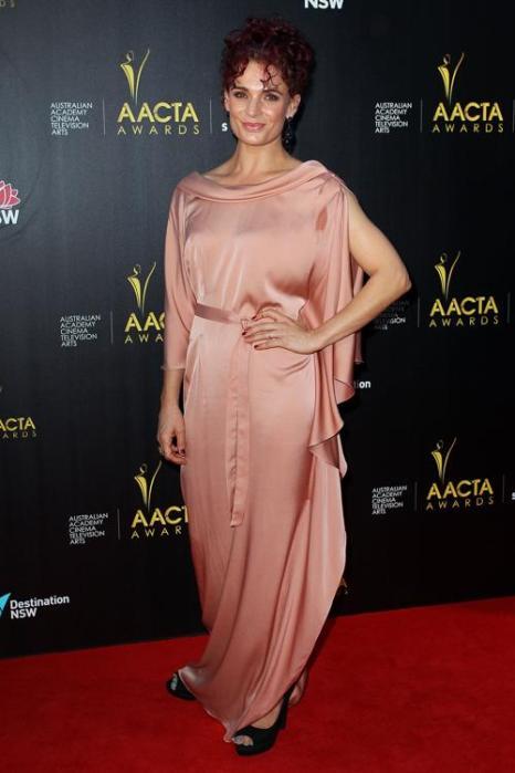 Даниэль Кормак, актриса из Новой Зеландии, на церемонии вручения премии AACTA в Сиднее, 30 января 2013 года. Фото: Lisa Maree Williams / Getty Images
