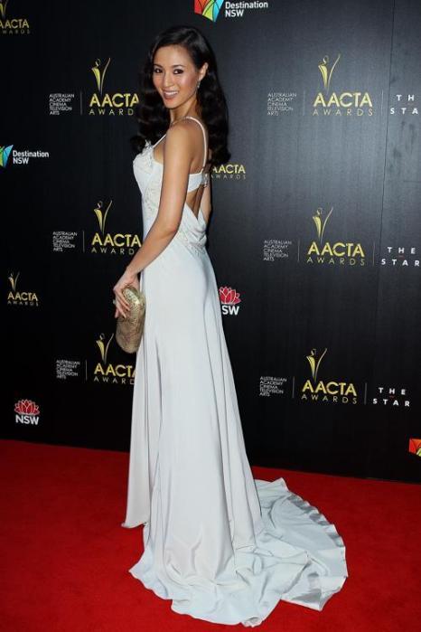 Грэйс Хуанг на церемонии вручения премии AACTA в Сиднее, 30 января 2013 года. Фото: Lisa Maree Williams / Getty Images