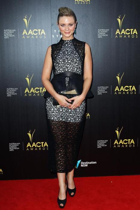 Мейв Дермоди, австралийская актриса, на церемонии вручения премии AACTA в Сиднее, 30 января 2013 года. Фото: Lisa Maree Williams / Getty Images