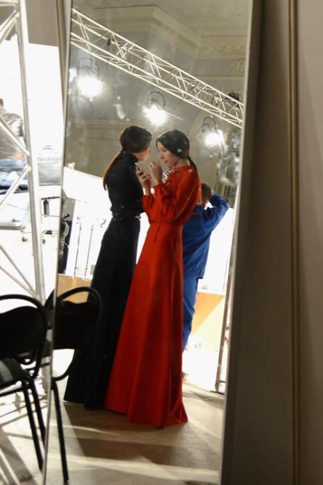 Виталия Быкова представила коллекцию на российской Неделе моды. Фото: Pascal Le Segretain/Getty Images for MBFW Russia