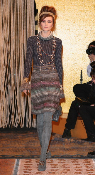 Показ  коллекции Chanel Mйtiers dArt, 7 декабря, Париж, Франция. Фото: Julien M. Hekimian/Getty Images