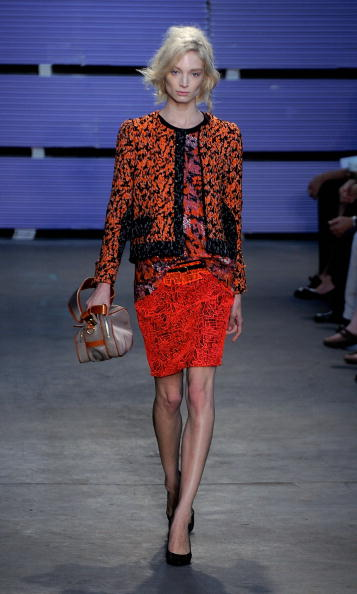 Коллекция Proenza Schouler Весна-2011 на Неделе моды Mercedes-Benz в Нью-Йорке. Фото: Jemal Countess/Getty Images