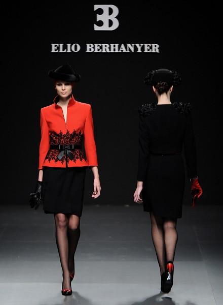 Коллекция от Elio Berhanyer на Неделе моды в Мадриде. Фото: Getyy Imges
