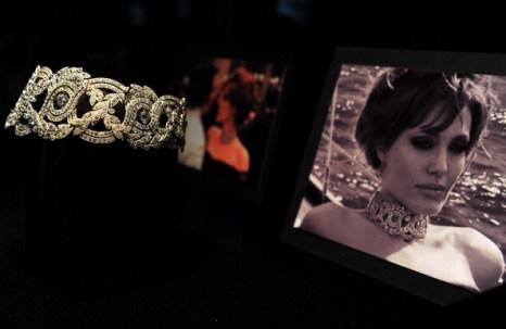 Коллекция ювелирных изделий Анджелины Джоли. фото:  GABRIEL BOUYS/AFP/Getty Images