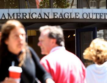 Магазин бренда American Eagle Outfitters. Фото: Justin Sullivan/Getty Images News