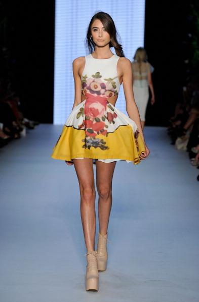 Фоторепортаж. Коллекция Alice McCall на Австралийской неделе моды 2011/12. Фото: Mark Nolan/Getty Images Entertainment