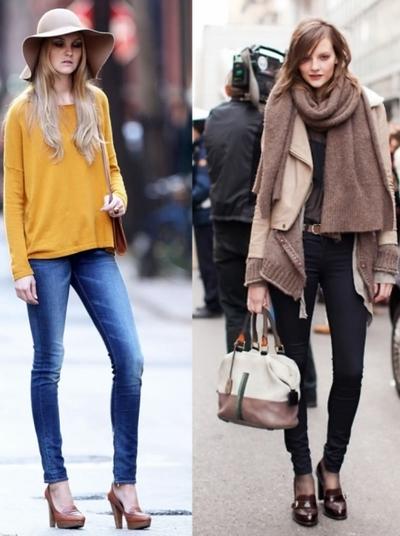 Модный тренд сезона: лоферы. Фото: vev.ru