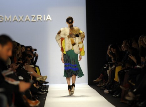 Max Azria осень 2012 на Неделе моды Mercedes-Benz. Фото: Frazer Harrison/Getty Images