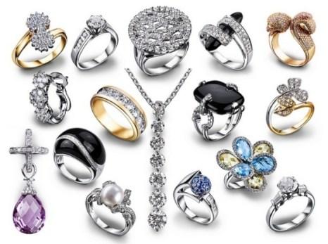 Серебряные украшения. Фото: женский-онлайн.рф