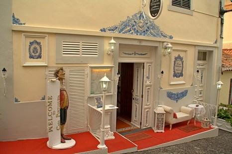 Один из ресторанов в Фуншале. Мадейра. Фото: Сима Петрова/Великая Эпоха (The Epoch Times)