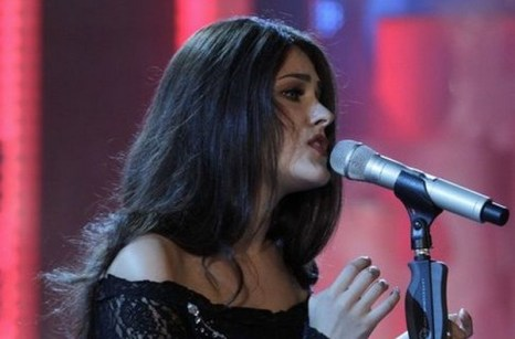 Второе место на конкурсе молодых исполнителей зянала Маша Собко из Украины. Фото с сайта vtabloid.com